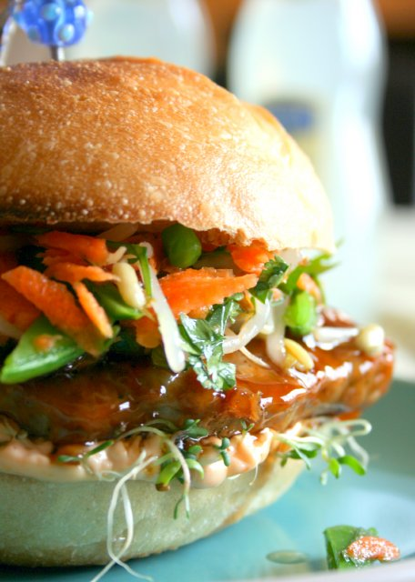 Asian Chicken Sandwich Recipes — Dishmaps