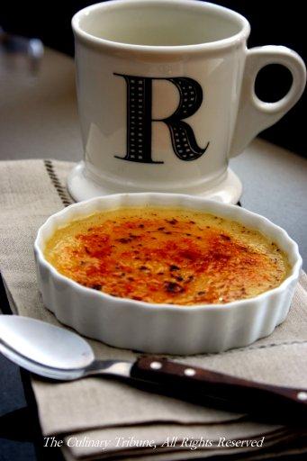 The Culinary Tribune Caf Au Lait Cr Me Br L E