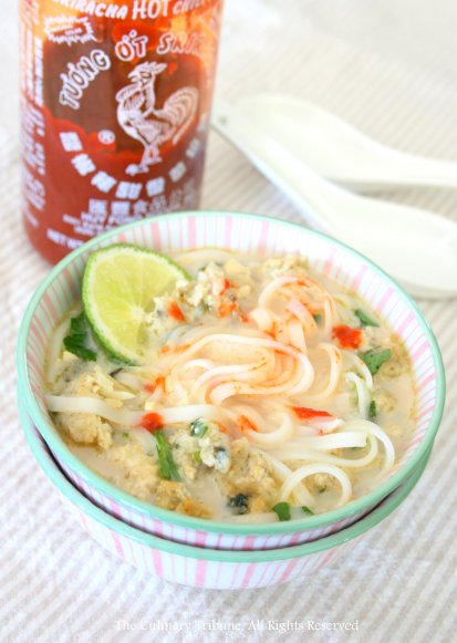 The Culinary Tribune › Coconut Lime Noodle Soup with ...