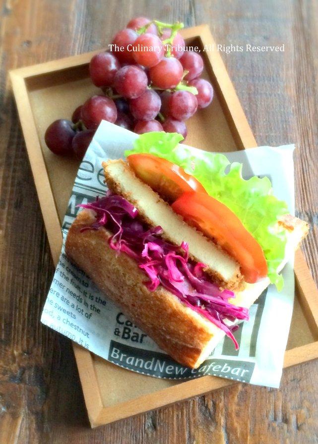 Koya Tofu Katsu Sandwich高野豆腐カツサンド